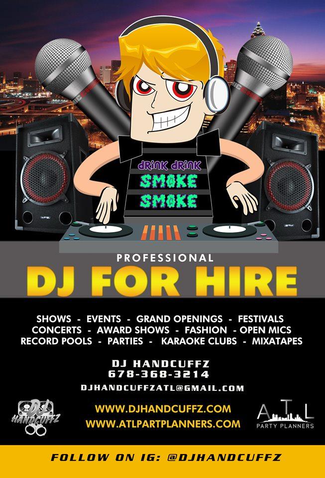 Hire Atlanta DJ Services